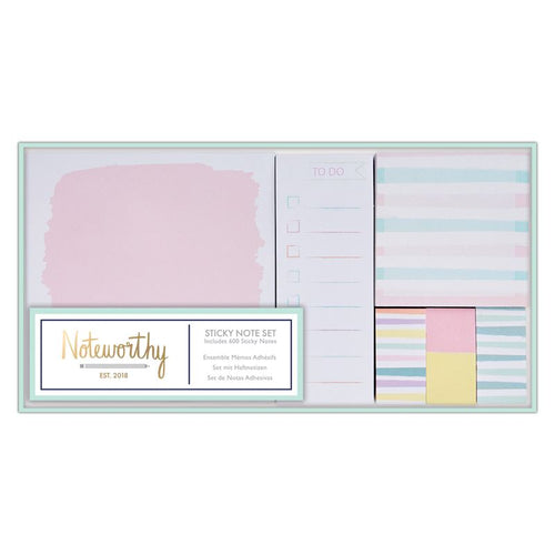 Sticky Note Set | Pastel Hues