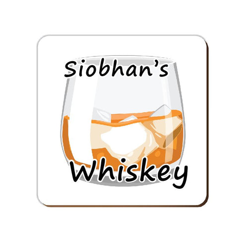 ______'s Whiskey | Personalised Drinks Coaster