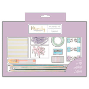 Deluxe Stationery Set | Pastel Hues