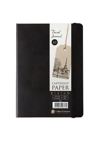 Collins & Davidson Cartridge Paper Hardcover Sketch Journal A5 / A6