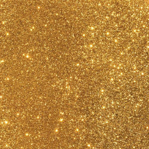 Gold Low-Shed A4 Glitter Card (Pack of 10 sheets)
