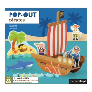 Pop Out Pirates Play Set