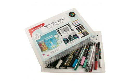 POSCA & Uniball Multi Craft Pen Project Kit
