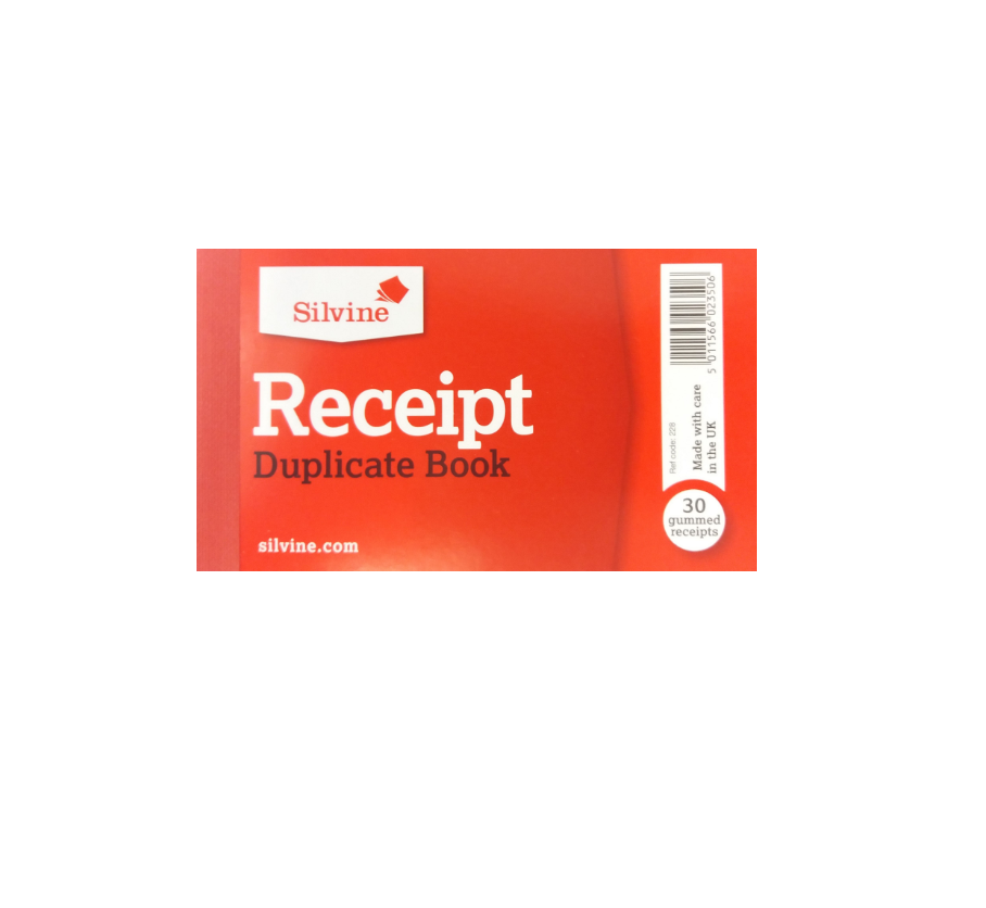 Receipt Duplicate Book | Small 30pg