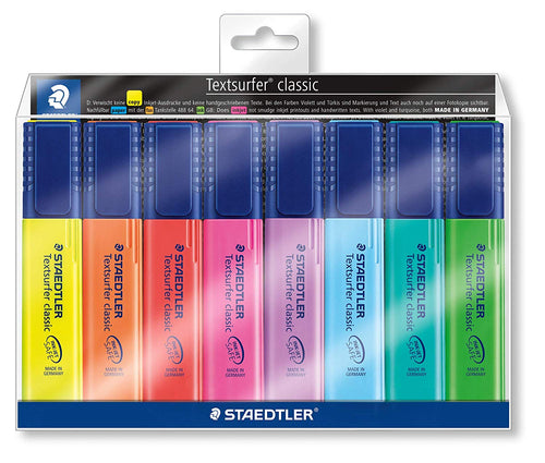 Textsurfer Classic Staedtler Highlighter 8 Pack