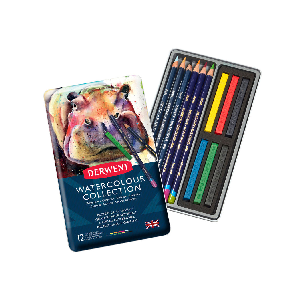 Derwent Watercolour Collection Tin
