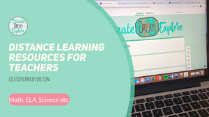 Distance Learning Resources for Teachers and Parents