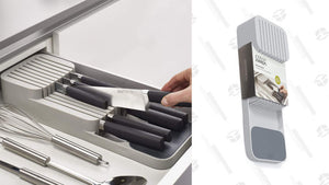 If You Don't Have a Knife Block, Put Your Fancy Knives In This $8 Joseph Joseph Organizer