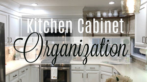Hey guys, I''m back with another video, and this time I'm showing you how I've organized my kitchen cabinets and drawers