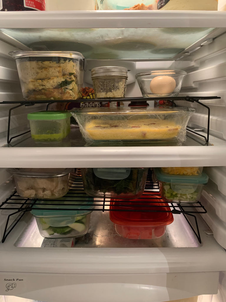 The $8 Kitchen Tool That Doubled the Storage Space of My Refrigerator