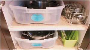 Hi everyone, today, I'll show you how I cleaned, declutter, purged, and organized my kitchen cabinets