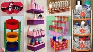 OrganizationIdeas Hello everyone, In this video, we have shown 11 easy and fast home and kitchen organization craft idea