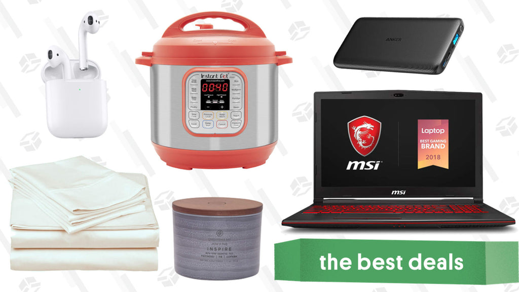 Monday's Best Deals: AirPods, Instant Pot, Thermapen, and More