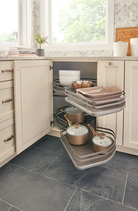 Organizing your kitchen space doesn't have to be a difficult and tedious task