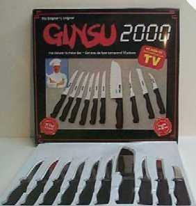Foxy Ginsu Knife Set