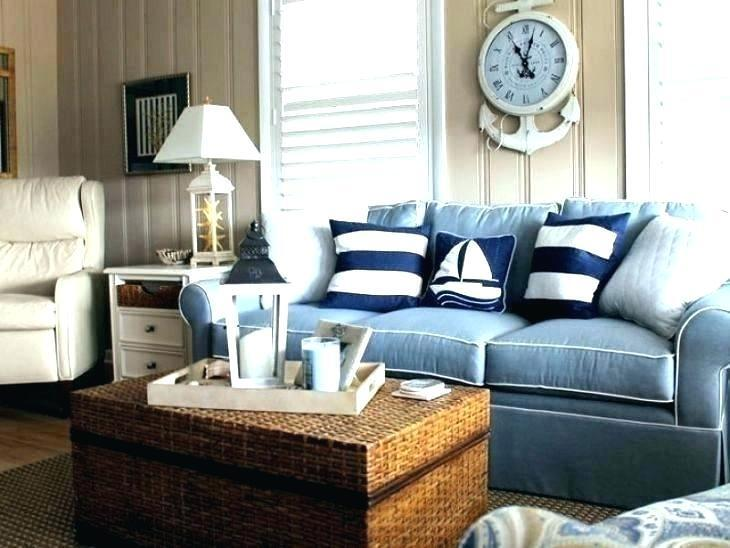 Nice Nautical Living Room Decor