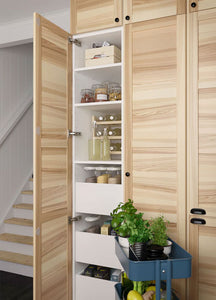 The beauty of IKEA cabinetry is its adaptability