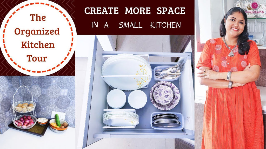 Organized Kitchen Cabinets & Drawers / How To Organize Indian Kitchen / Indian Kitchen Tour In this video I have shared how I have organised our Indian ...