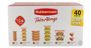 Rubbermaid TakeAlongs Food Storage Container, 40-Piece Set – Just $8.48!