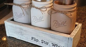 Scenic Mason Jar Kitchen Decor