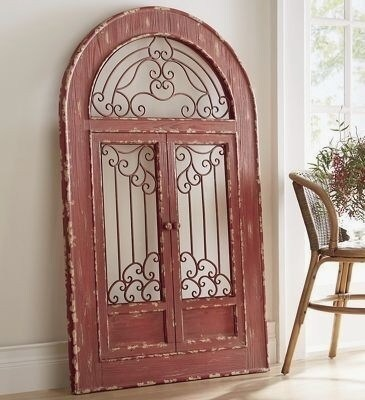 Archaikomely Barn Door Wall Decor