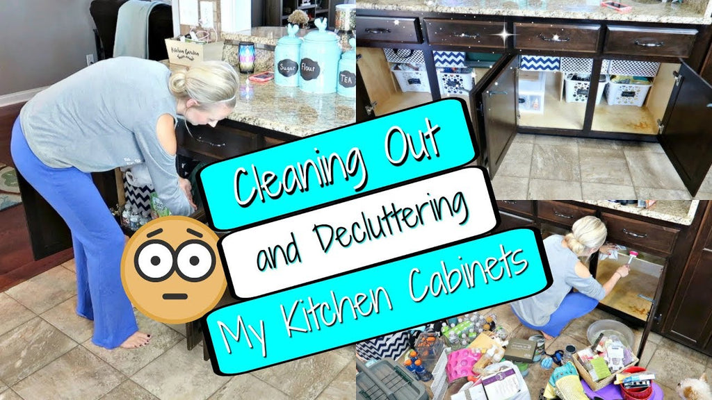 Hey Guys! Today I am tackling my least favorite chore and that is decluttering and organizing! It feels so good to have it done tho!! Relieves anxiety believe it or ...