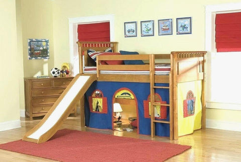 Ceiling Toddler Loft Bed With Slide