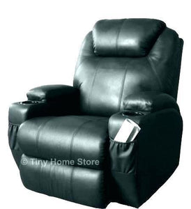 Neutral Toddler Recliner With Cup Holder