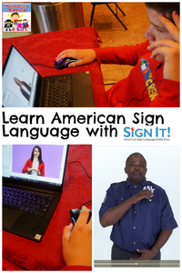 Teach your kids Sign Language!