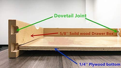Select nice elysian roll wood tray drawer boxes kitchen organizers cabinet slide out shelves pull out shelf include 2 pack full extension side sliders 2 rear mounting brackets pot 6 30w x 21d