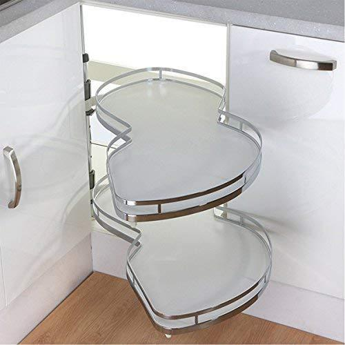 Try vadania kitchen cabinet blind corner pull out organizer for 36 inch cabinet 2 tiers swing tray soft close right handed open