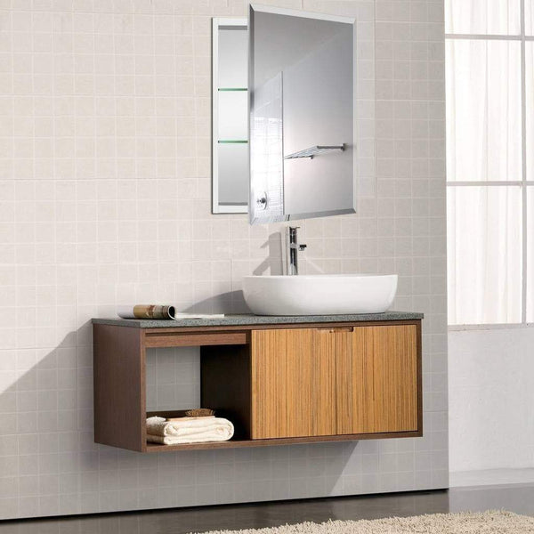 New b c 23x30aluminum medicine cabinet with mirror color black bathroom mirror cabinet with adjustable glass shelves storage cabinet for bathroom recessed or surface mounting