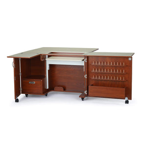 The best kangaroo kabinets wallaby 2 sewing cabinet teak