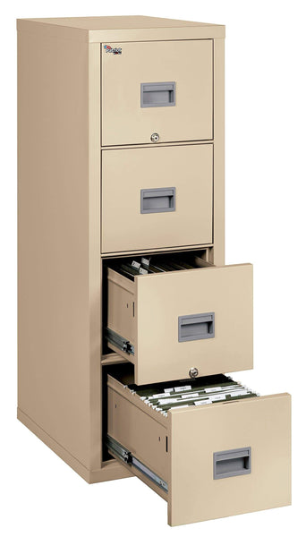Discover the fireking patriot 4p1825 cpa one hour fireproof vertical filing cabinet 4 drawers deep letter or legal size 18 w x 25 d parchment made in usa