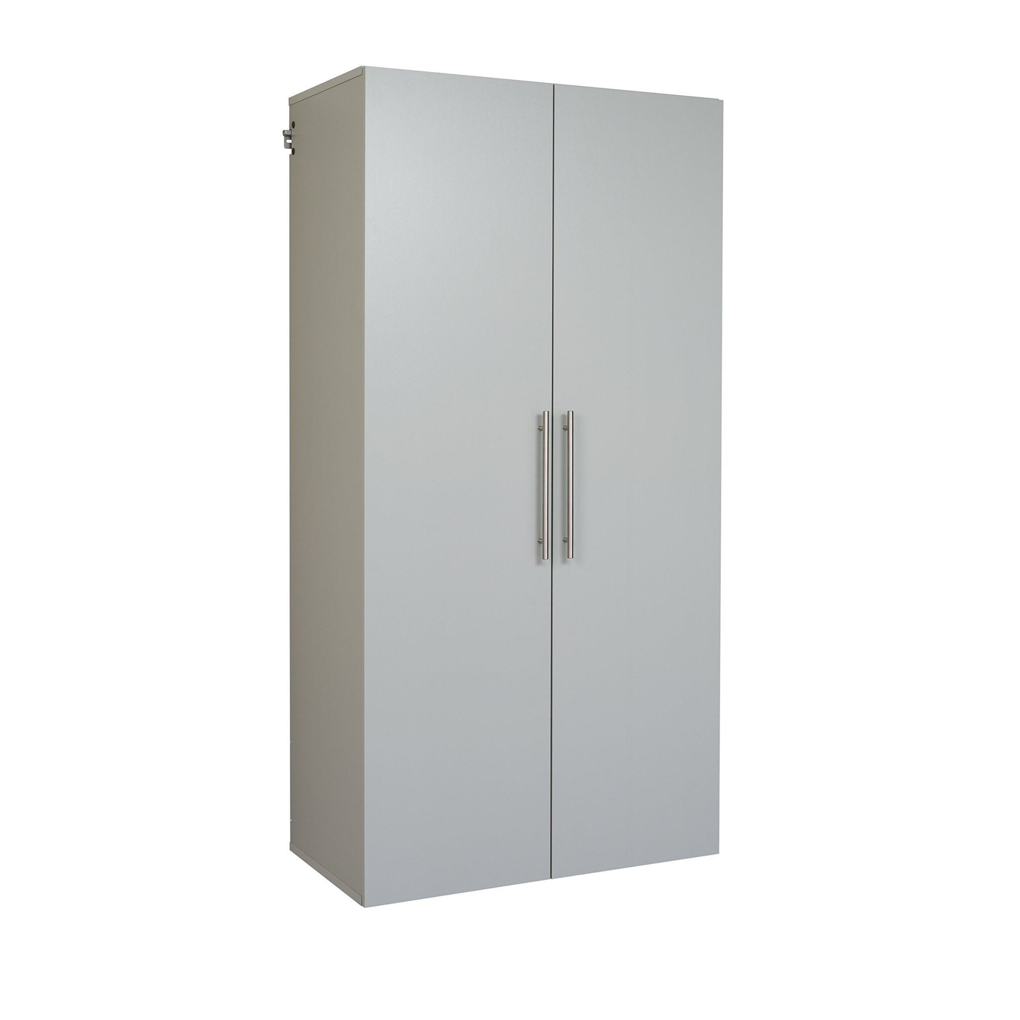 Top prepac gscw 0708 2k hang ups storage cabinet 36 large light gray
