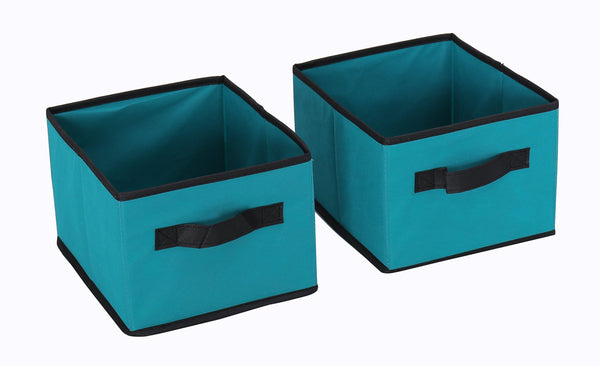 Products homebi storage chest shelf unit 12 drawer storage cabinet with 6 tier metal wire shelf and 12 removable non woven fabric bins in turquoise 20 67w x 12d x49 21h