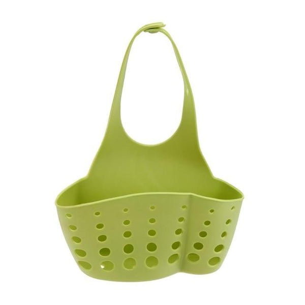 Kitchen Organizer Sponge Drain Holder Plastic Sponge Storage Rack Basket Wash Cloth Shelf Bathroom Soap Organizer