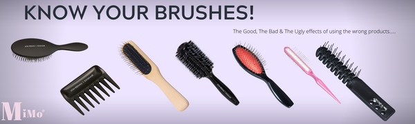 Wig Brushes • The Best & Worst • When to use what brush on your wig