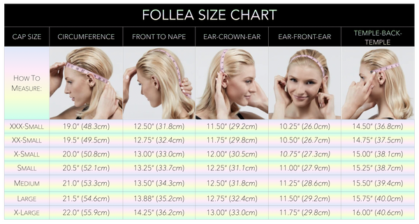 HOW TO MEASURE FOR A FOLLEA WIG