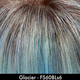 GLACIER - Pastel Blue Rooted Wig Colour by Jon Renau