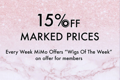15% off: Wigs of the week
