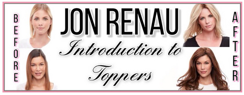 Jon Renau Toppers at MiMo Wigs