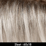 Sleet - White Rooted shade by Jon Renau Wigs