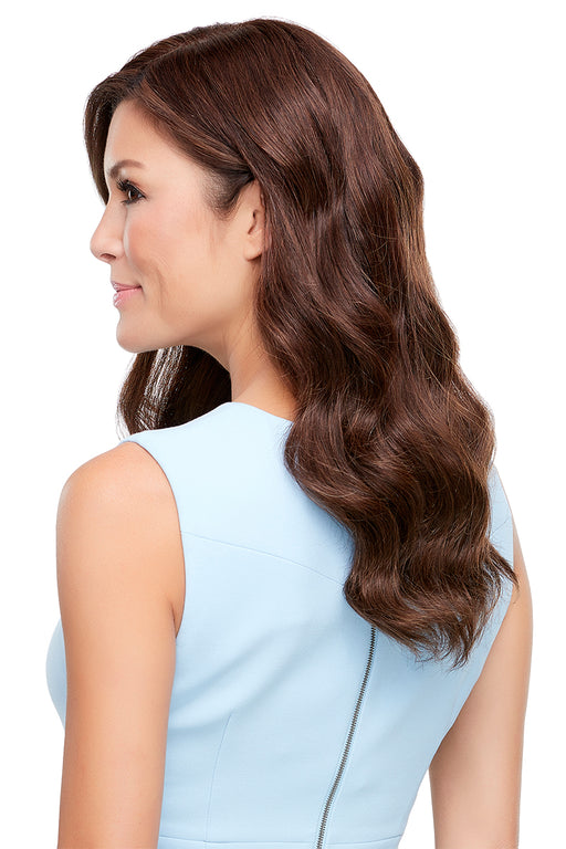 "Top Style 18"" Human Hair by Jon Renau •  MIMO WIGS • Toppers Experts & Medical Hair Loss Experts."