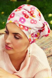 Sapphire Boho Turban Set (PATTERNED) by Christine Headwear (3008)