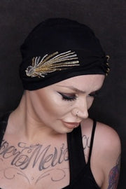 Carolina Black Laurel Crown by Masumi Headwear