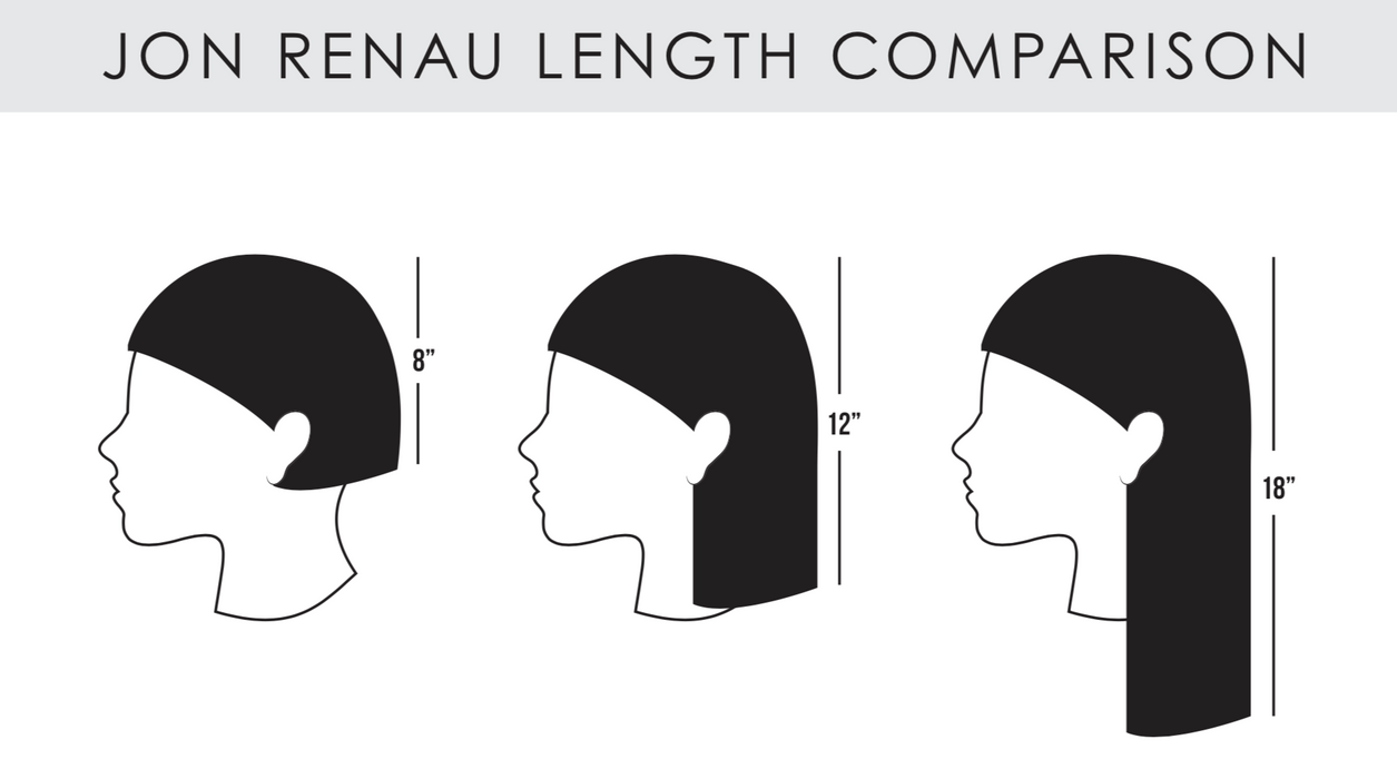 "Top Form French 18"" Topper by Jon Renau •  MIMO WIGS • Toppers Experts & Medical Hair Loss Experts."
