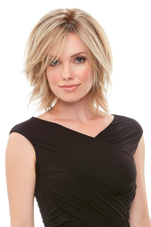 "Top Form 8"" Human Hair Topper by Jon Renau •  MIMO WIGS • Toppers Experts & Medical Hair Loss Experts."