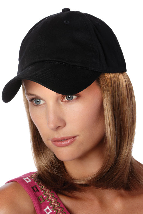 Black Hat with Classic Hair by Henry Margu