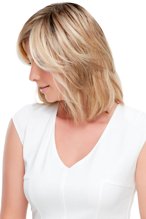 Essentially You Topper by Jon Renau • Topper Collection •  MIMO WIGS • Toppers Experts & Medical Hair Loss Experts.